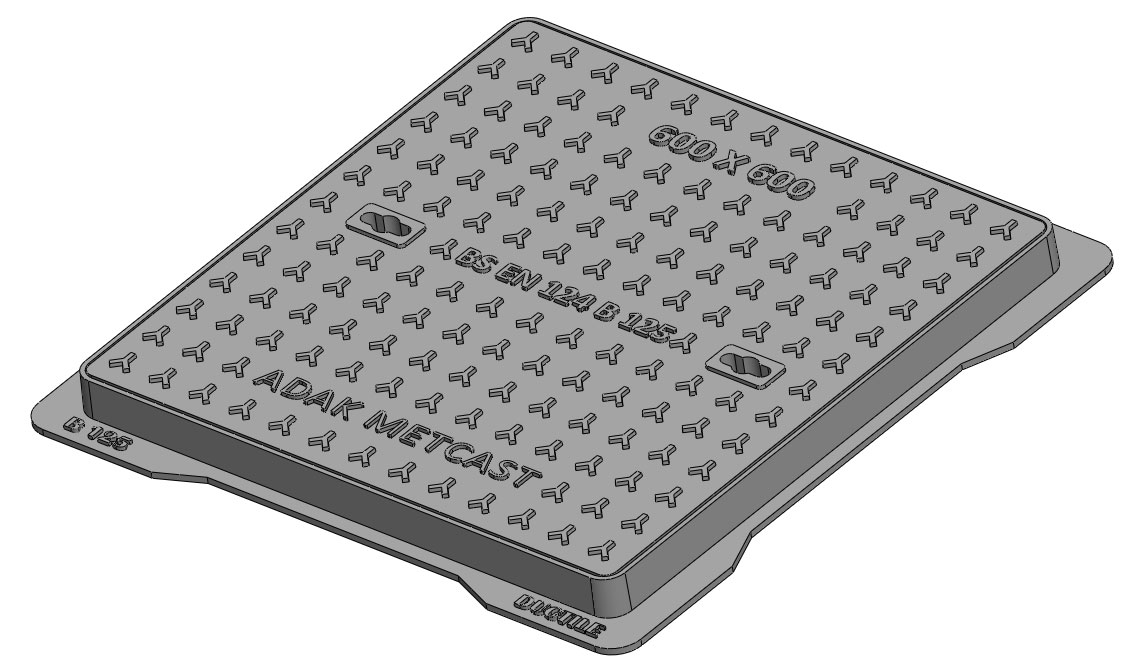B125 Solid Top Covers - Driveways and Car Parks Image