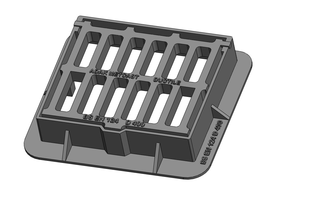 D400 Gully Gratings Hinged Type Image