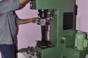 Brinnel Hardness Testing